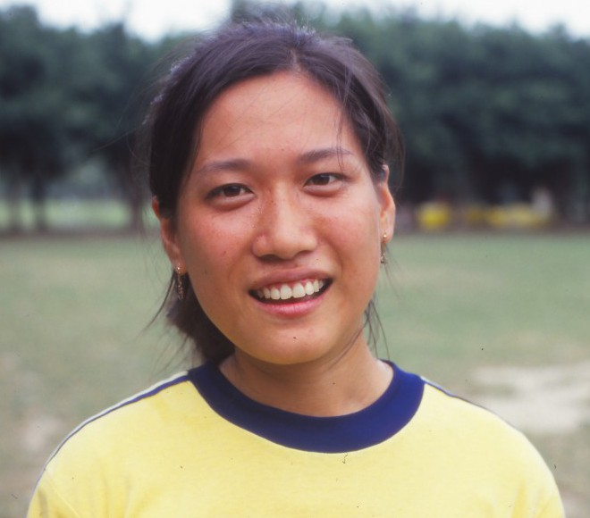 Teresa 1989 at Youth Park in Taipei